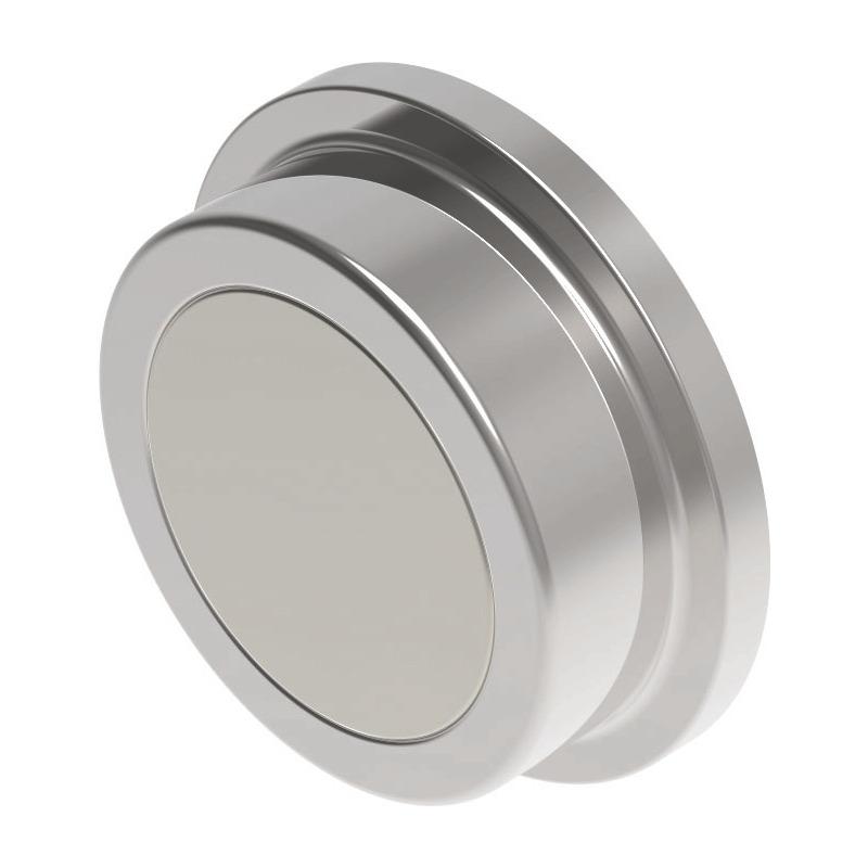 Durchmesser 25 mm nickel MAUL Neodym-Kraftmagnet