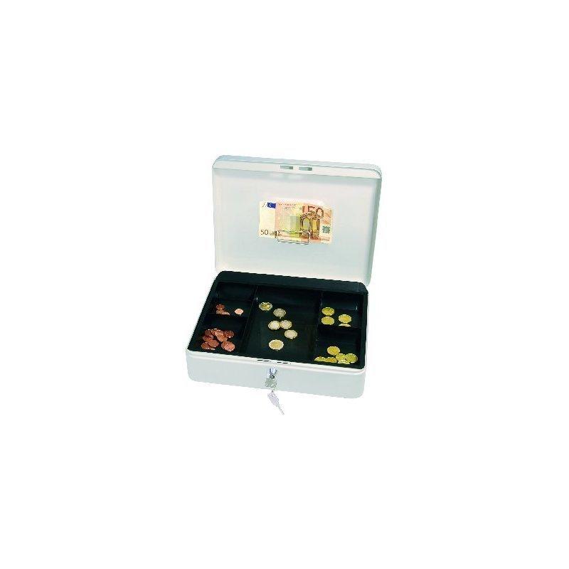 H WEDO Geldkassette mit Clip, 90 mm B T 240 x 300 x