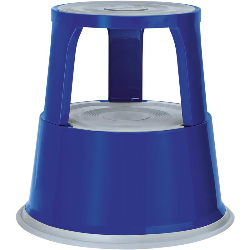 WEDO Rollhocker, Aus Metall, Blau / RAL 5002 212 103 Bei