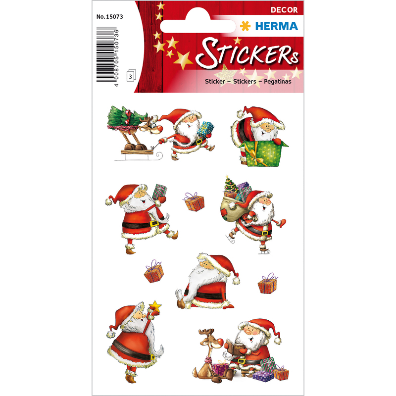 herma weihnachts sticker decor nikolaustag 15073 bei www. Black Bedroom Furniture Sets. Home Design Ideas