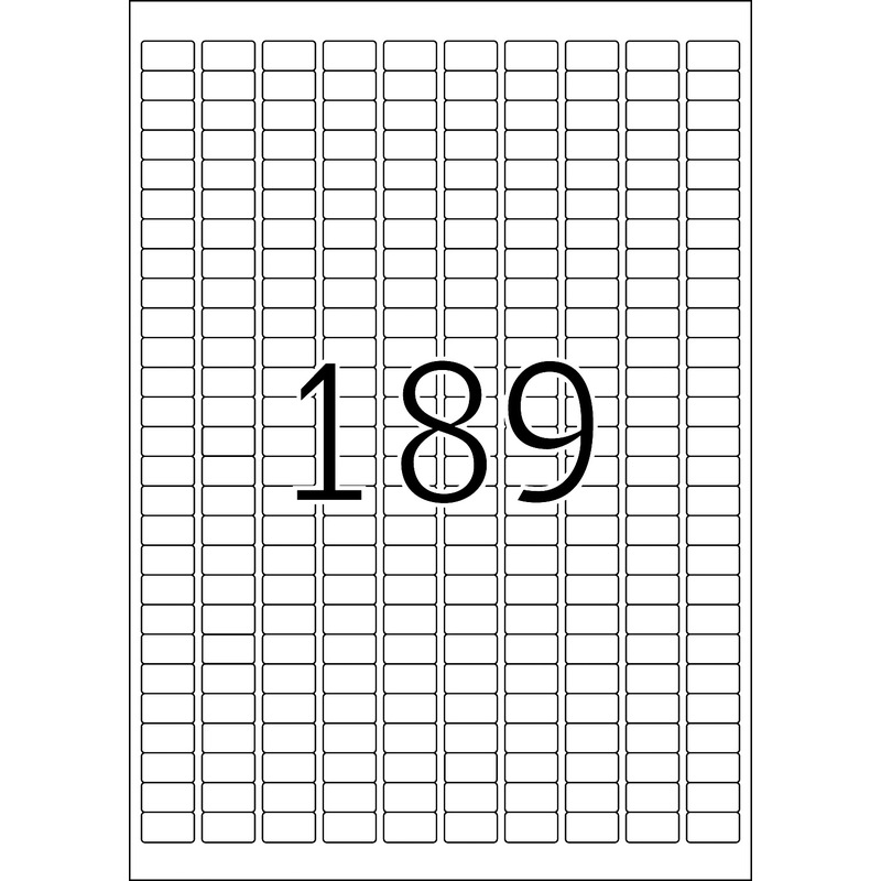 HERMA Universal Etiketten SPECIAL 25,4 x 10 mm rot 3.780 Etiketten