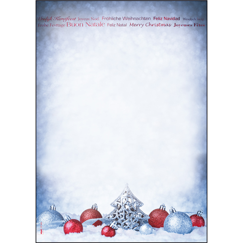 Motivpapier Weihnachten.Sigel Weihnachts Motiv Papier Christmas Moments A4