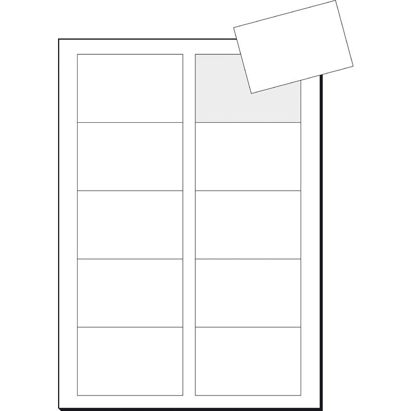 Sigel Visitenkarten 3c 85 X 55 Mm 225 G Qm Hochweiß