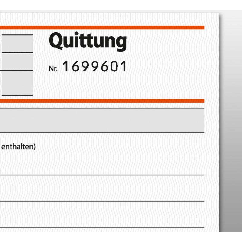 Sigel Formularbuch Quittung Fortlaufende Nummerierung Sd121 Bei
