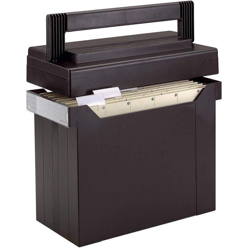 elba h ngeregistratur box go set go gef llt schwarz 100081045 bei g nstig kaufen. Black Bedroom Furniture Sets. Home Design Ideas