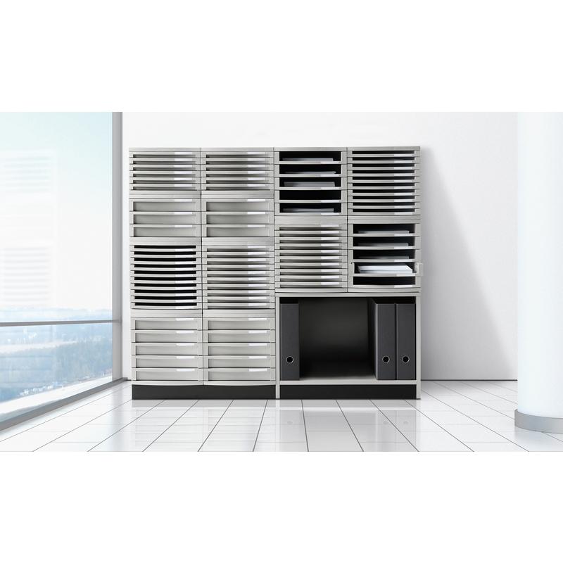han schubladenbox contur 5 sch be lichtgrau 1505 11 bei g nstig kaufen. Black Bedroom Furniture Sets. Home Design Ideas