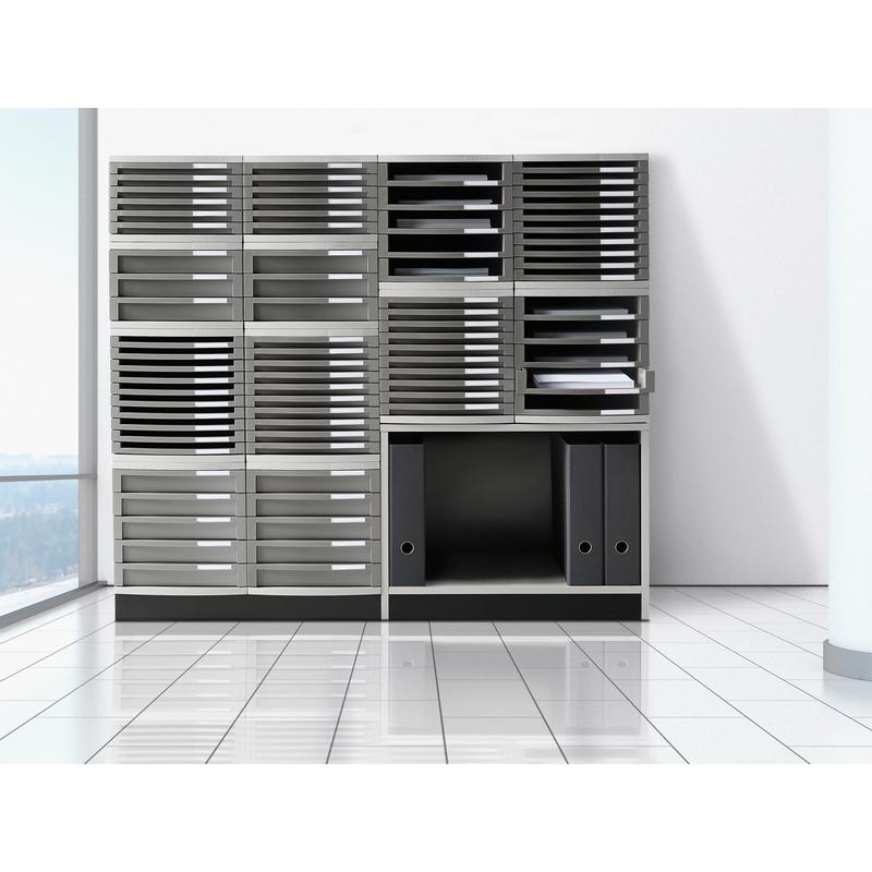 han schubladenbox contur 6 sch be lichtgrau 1506 19 bei g nstig kaufen. Black Bedroom Furniture Sets. Home Design Ideas