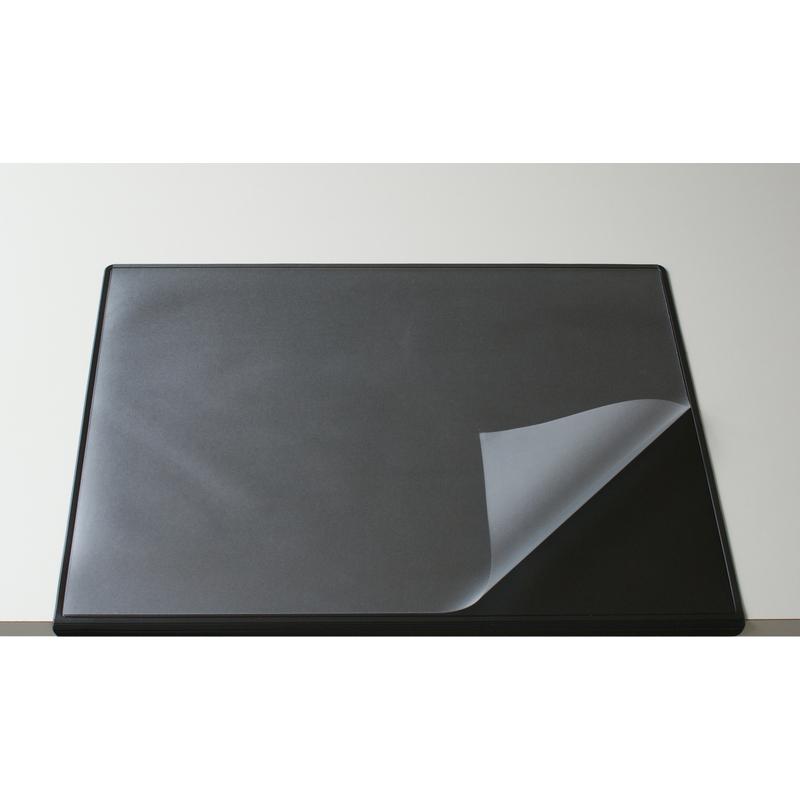 Läufer Schreibunterlage Durella schwarz Kunststoff rutschfest Schreibtisch Büro