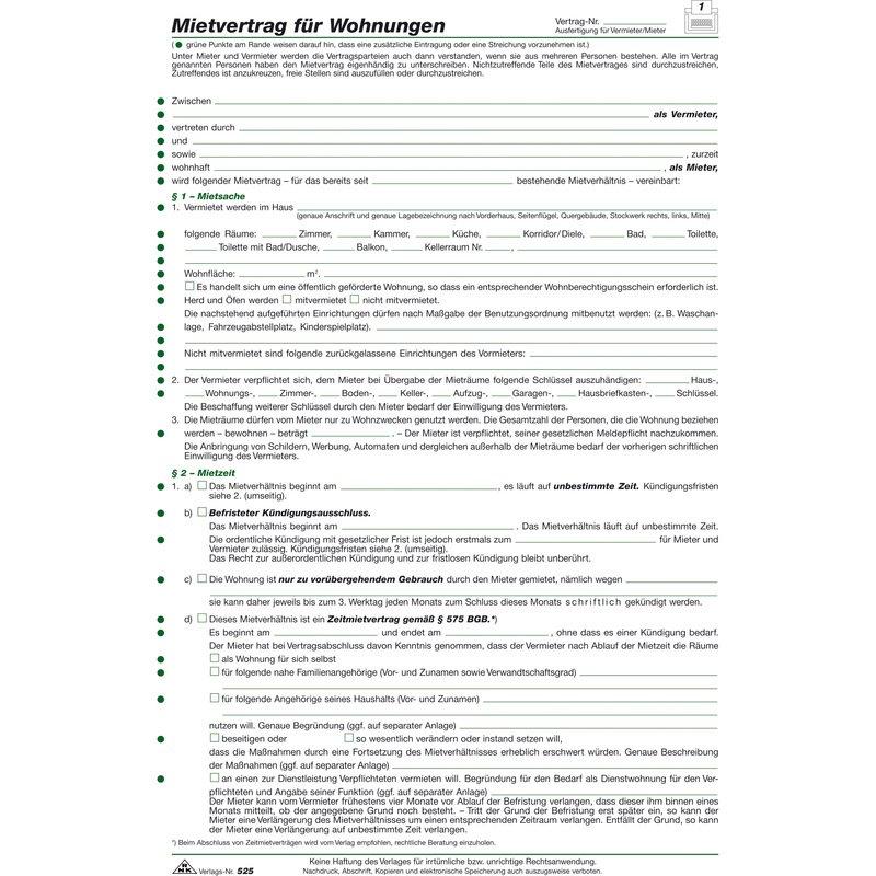 RNK Verlag Vordruck \