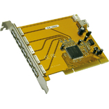 EXSYS usb 2.0 pci Karte, 5 + 1 Port, 32 Bit, nec Chipsatz
