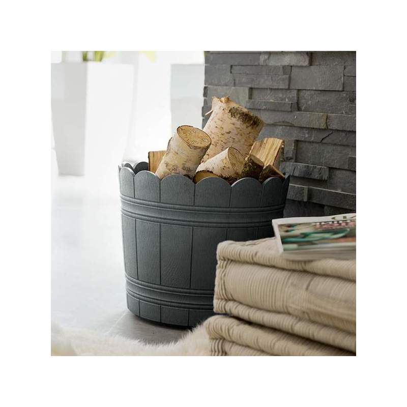 emsa blumenk bel country durchmesser 300 mm gr n 515267 bei g nstig kaufen. Black Bedroom Furniture Sets. Home Design Ideas