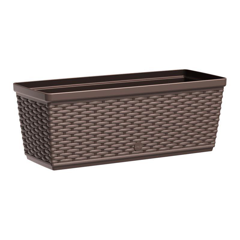 emsa blumenkasten aqua plus casa mesh b 500 mm mokka 515023 bei g nstig kaufen. Black Bedroom Furniture Sets. Home Design Ideas