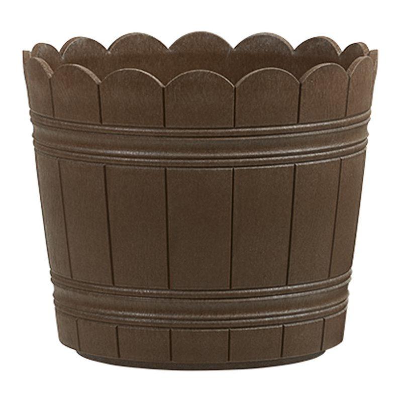 emsa blumenk bel country durchmesser 300 mm braun 515264 bei g nstig kaufen. Black Bedroom Furniture Sets. Home Design Ideas