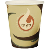 "PAPSTAR hartpapier-kaffeebecher ""Coffee to Go"", 0,2 l"
