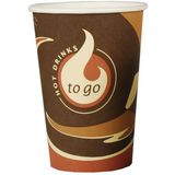 "PAPSTAR hartpapier-kaffeebecher ""Coffee to Go"", 0,3 l"