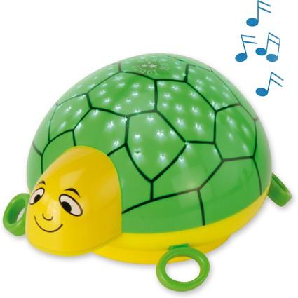 """ANSMANN Musik Sternenlicht """"Schildkröte"""", grün / gelb"""