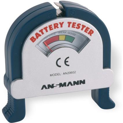 """ANSMANN Teststation """"BATTERY TESTER"""" zum Prüfen von"""