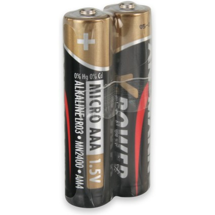 "ANSMANN Alkaline Batterie ""X-Power"", Micro AAA, 20er Display"