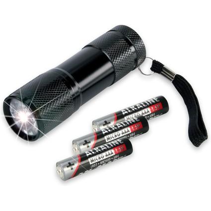 """ANSMANN LED-Taschenlampe """"ACTION 9"""", mit Batterien"""