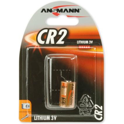 """ANSMANN Lithium-Foto-Batterie """"CR2"""", 3 Volt, 1er-Blister"""