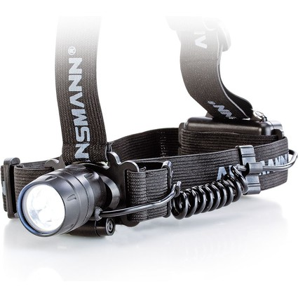 "ANSMANN Kopflampe ""HEADLIGHT HD5"", mit 5 LED's"