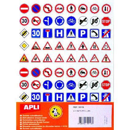 "agipa Sticker ""Verkehrsgesetze"""