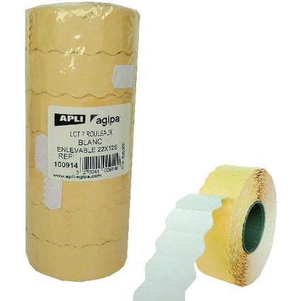 agipa Etiketten für Preisauszeichner, 22 x 12 mm