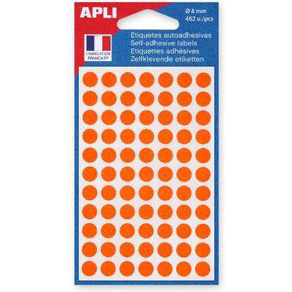 agipa Markierungspunkte, Durchmesser: 8 mm, rund, orange