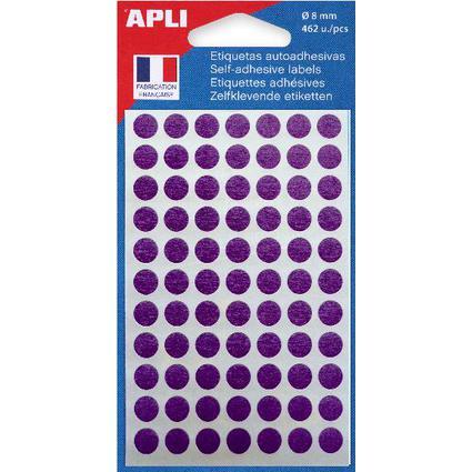 agipa Markierungspunkte, Durchmesser: 8 mm, rund, violett