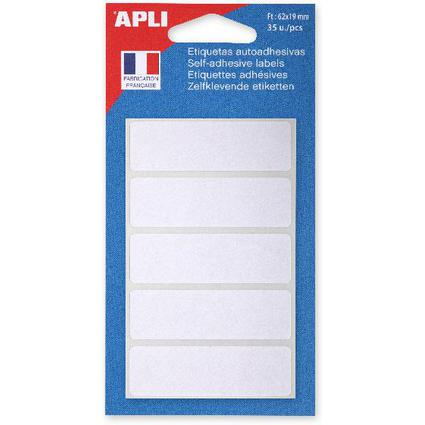 agipa Vielzweck-Etiketten, 19 x 62 mm, weiß