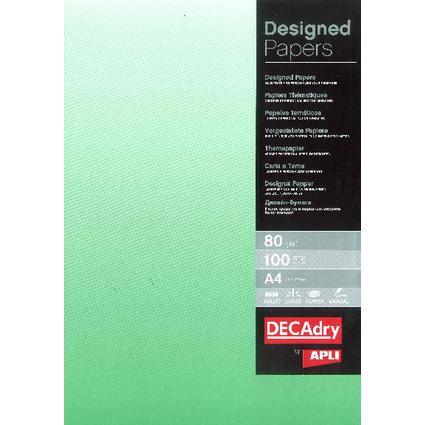 agipa Design-Papier, DIN A4, 80 g/qm,Farbverlauf smaragdgrün