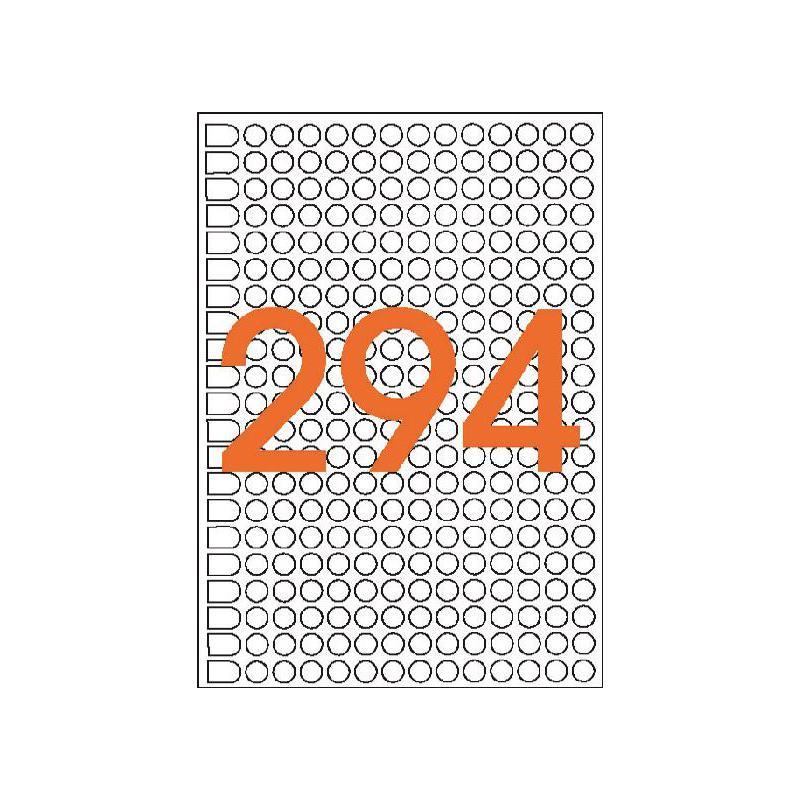 8 mm rund grün 2940 Stück agipa Markierungspunkte Durchmesser