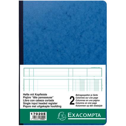 EXACOMPTA Spaltenbuch DIN A4, 2 Spalten je Seite