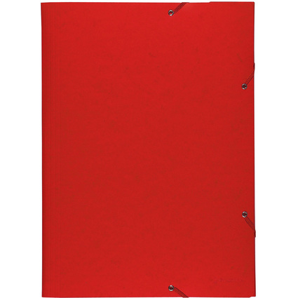 EXACOMPTA Eckspannermappe, DIN A3, Karton, rot