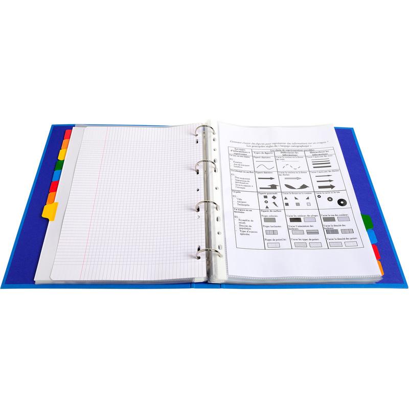 DIN A4 Überbreite EXACOMPTA Karton-Register 12-teilig