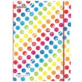 "herlitz notizheft my.book flex SmileyWorld ""Rainbow"", A4"