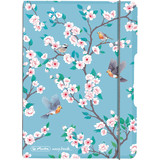 "herlitz notizheft my.book flex Ladylike ""Birds"", A6"