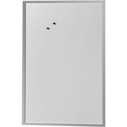 herlitz Magnettafel, (B)600 x (H)800 mm, aus Metall, weiß