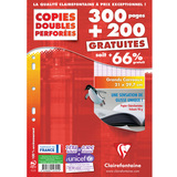 Étui copies doubles a4 300 pages + 200 gratuites Séyès 90g