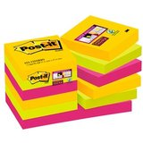 Post-it haftnotizen Super sticky Notes, 48 x 48 mm, Rio