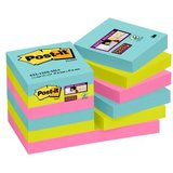 Post-it haftnotizen Super sticky Notes, 48 x 48 mm, Miami