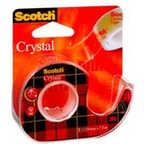 Scotch klebefilm Crystal clear 600, inkl. Handabroller