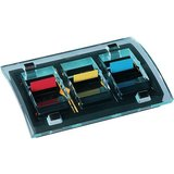 Post-it index Spender, schwarz/transparent, Vorteilspack
