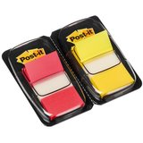 Post-it haftmarker Index, 25,4 x 43,2 mm, rot/gelb, Vorteil