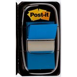 Post-it haftmarker Index, 25,4 x 43,2 mm, blau