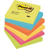 Post-it haftnotizen Active Collection, 76 x 76 mm, sortiert