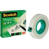 3M scotch Klebefilm magic 810, unsichtbar, 12 mm x 33 m