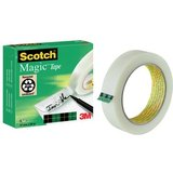 3M scotch Klebefilm magic 810, unsichtbar, 25 mm x 66 m