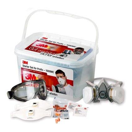 3M Safety Box, Starterbox befüllt mit Arbeitsschutzprodukten