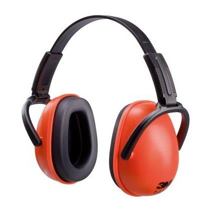 3M Kapsel-Gehörschutz 1436C, orange / schwarz